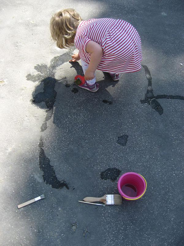 Maľovanie vodou