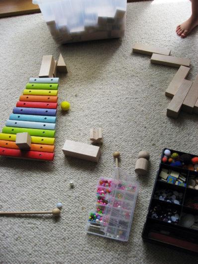 guľôčková dráha s xylofónom