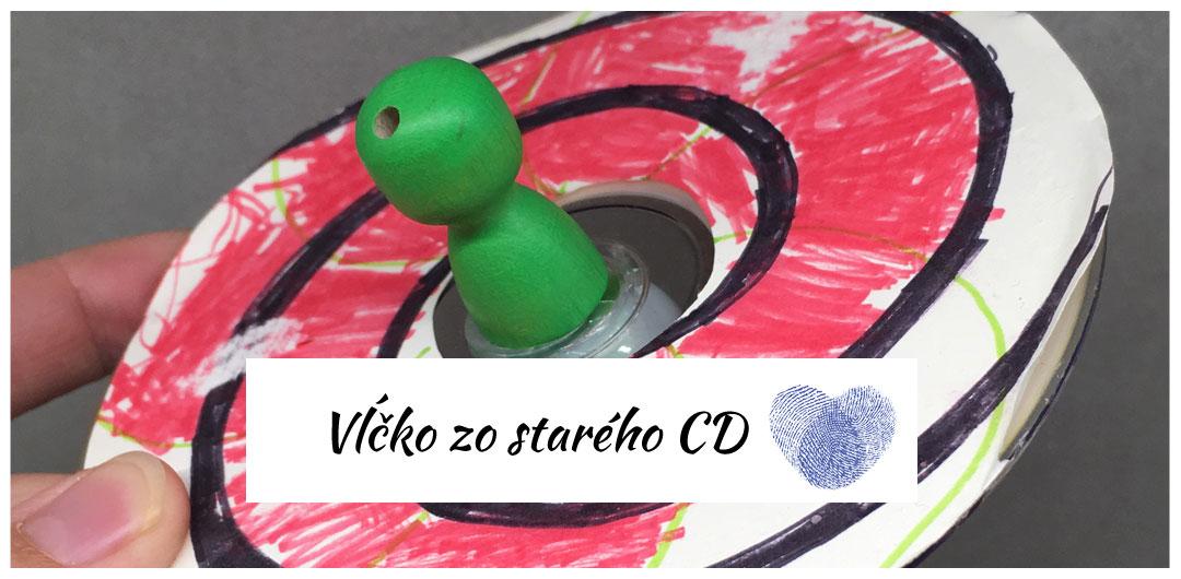vlcko z recyklovaneho cd
