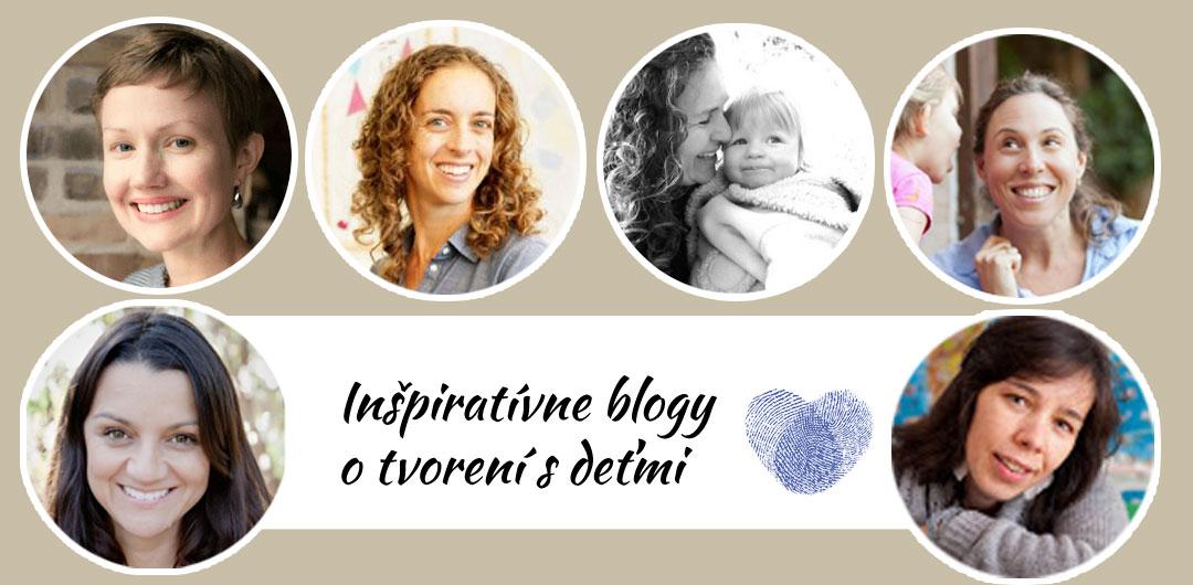 Inšpiratívne blogy o tvorení s deťmi