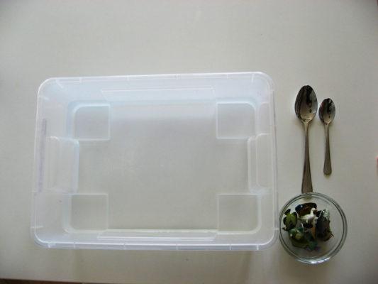 Zmyslová nádoba s vodou